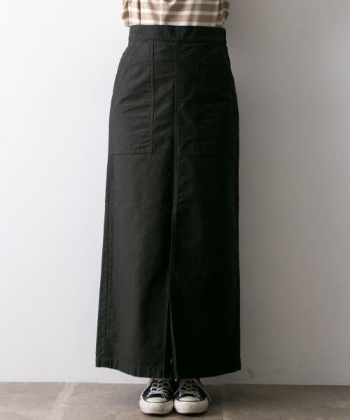 URBAN RESEARCH / アーバンリサーチ スカート | GUNG HO×URBAN RESEARCH 別注ベイカーロングスカート | 詳細9