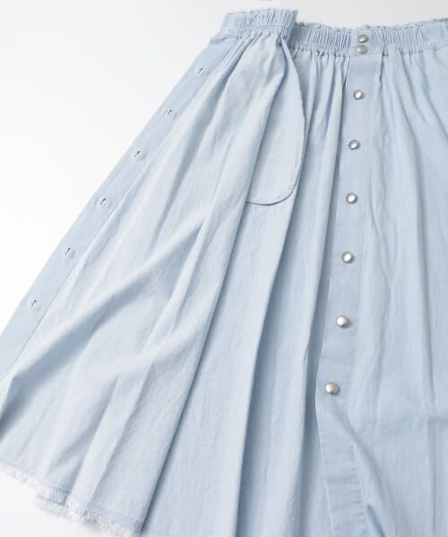 URBAN RESEARCH / アーバンリサーチ スカート | フロント釦デニムスカート | 詳細14