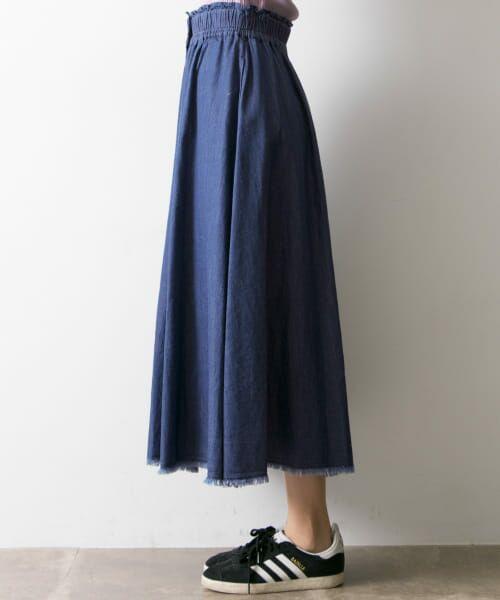 URBAN RESEARCH / アーバンリサーチ スカート | フロント釦デニムスカート | 詳細9