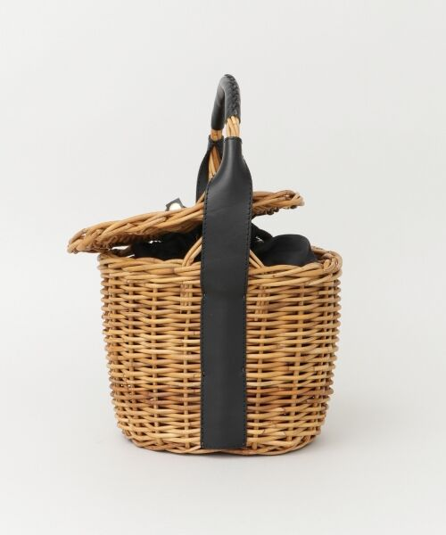 URBAN RESEARCH / アーバンリサーチ ハンドバッグ | FleaStoreVegetal×UR 別注Bucket Leather Bag(BLACK)