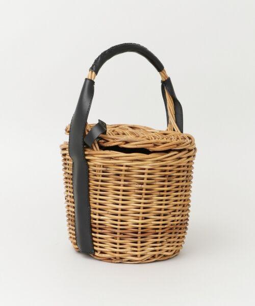 URBAN RESEARCH / アーバンリサーチ ハンドバッグ | FleaStoreVegetal×UR 別注Bucket Leather Bag | 詳細1