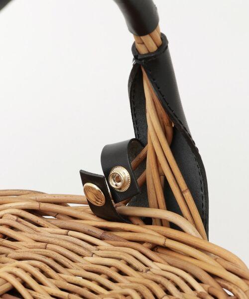 URBAN RESEARCH / アーバンリサーチ ハンドバッグ | FleaStoreVegetal×UR 別注Bucket Leather Bag | 詳細4