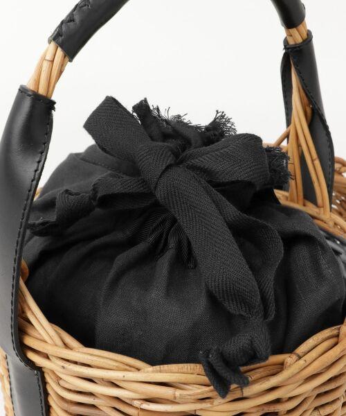 URBAN RESEARCH / アーバンリサーチ ハンドバッグ | FleaStoreVegetal×UR 別注Bucket Leather Bag | 詳細5