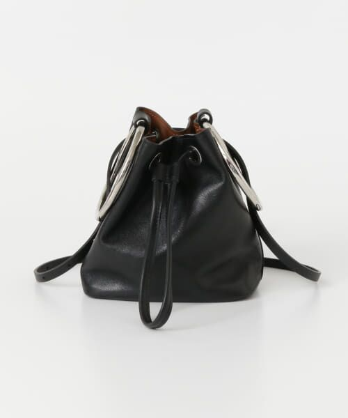 URBAN RESEARCH / アーバンリサーチ ハンドバッグ | MAISON BOINET RING MINI BAG(BLACK)