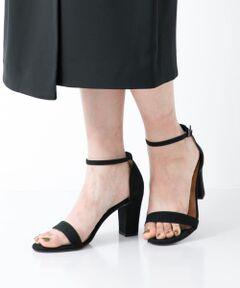 """<strong style=""""font-weight:bold;"""">【足への負担を軽減しつつ、美しくみせる大人気サンダル】</strong><br>抜群の安定感がありながら、細めのアンクルストラップで華奢な印象に仕上がった人気のサンダル。足元を女性らしく飾ってくれるワンストラップのサンダルは、デイリーからフォーマルスタイルまで幅広く活躍できる一足。履き心地にも定評があり、長時間の着用も苦になりません。<br><br><strong style=""""font-weight:bold;"""">POINT</strong><br>・様々なスタイリングと相性が抜群のシンプルデザイン<br>・足首を華奢にみせる細めのストラップデザイン<br><br><strong style=""""font-weight:bold;"""">COORDINATE</strong><br>定番のデニムやワイドパンツにはもちろん、フレアスカートやタイトスカートでガーリーに合わせるのも◎シンプルで女性らしいデザインが、どんなスタイリングにも溶け込みます。<br><br><strong style=""""font-weight:bold;"""">MILLIWM(ミリウム)</strong><br>スニーカーを履きなれた女性のためのシューズブランド。<br>履き心地の良さや、機能性を取り入れ、きれいな木型を使ったパンプスやフラットシューズを提案。<br><br>※表記サイズは目安です。生産国やデザインによってサイズが異なりますので、採寸表の実寸サイズをご参照ください。"""