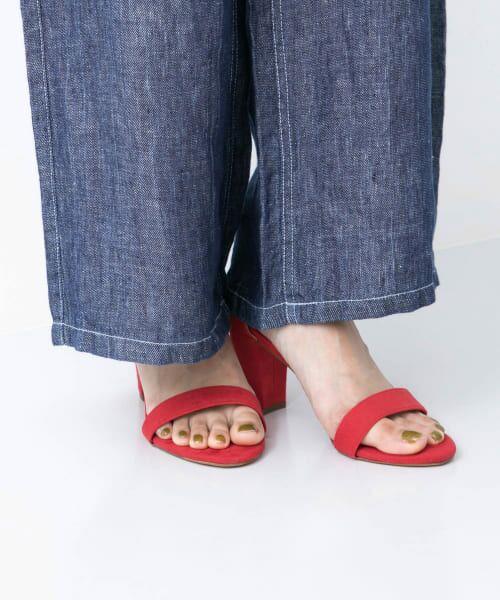 URBAN RESEARCH / アーバンリサーチ サンダル | MILLIWM Strap Sandal(RED)