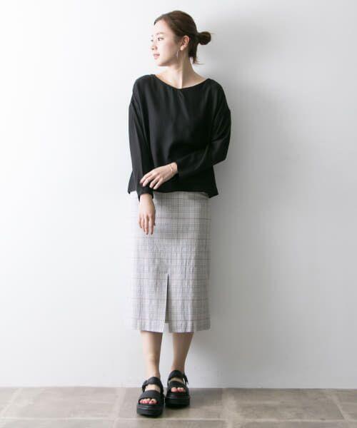 URBAN RESEARCH / アーバンリサーチ スカート | Arollaチェックタイトスカート | 詳細2