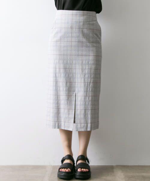 URBAN RESEARCH / アーバンリサーチ スカート | Arollaチェックタイトスカート | 詳細3