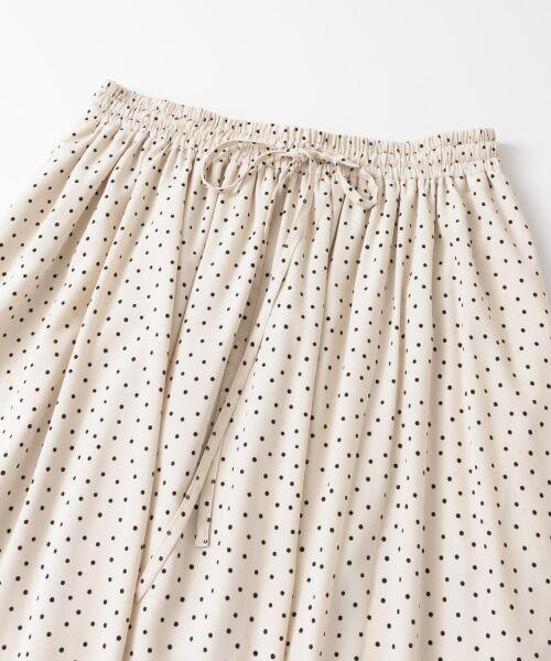 URBAN RESEARCH / アーバンリサーチ スカート | ランダムドットギャザーマキシスカート | 詳細12