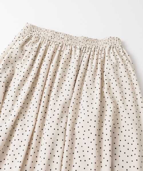 URBAN RESEARCH / アーバンリサーチ スカート | ランダムドットギャザーマキシスカート | 詳細15