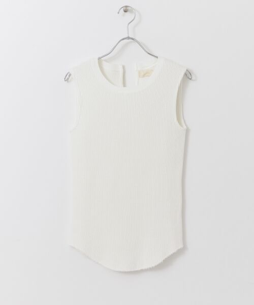 URBAN RESEARCH / アーバンリサーチ Tシャツ | JUBILEE THERMAL NO-SLEEVE T-SHIRTS(WHITE)