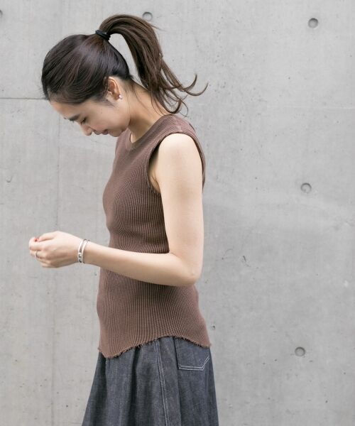 URBAN RESEARCH / アーバンリサーチ Tシャツ | JUBILEE THERMAL NO-SLEEVE T-SHIRTS | 詳細1
