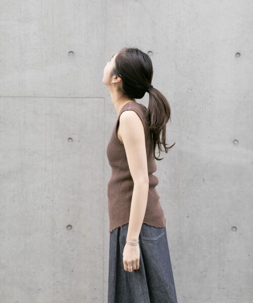 URBAN RESEARCH / アーバンリサーチ Tシャツ | JUBILEE THERMAL NO-SLEEVE T-SHIRTS | 詳細3