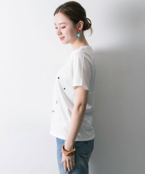 URBAN RESEARCH / アーバンリサーチ Tシャツ   ランダムスター刺繍Tシャツ   詳細12