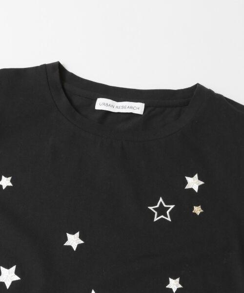 URBAN RESEARCH / アーバンリサーチ Tシャツ   ランダムスター刺繍Tシャツ   詳細14