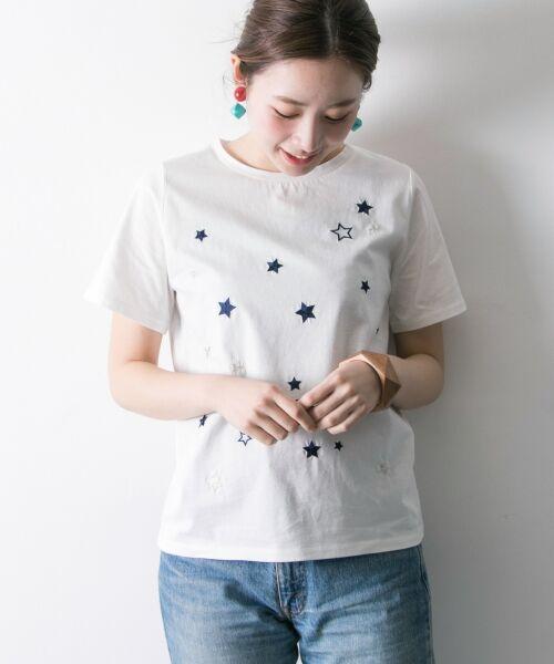 URBAN RESEARCH / アーバンリサーチ Tシャツ   ランダムスター刺繍Tシャツ   詳細5