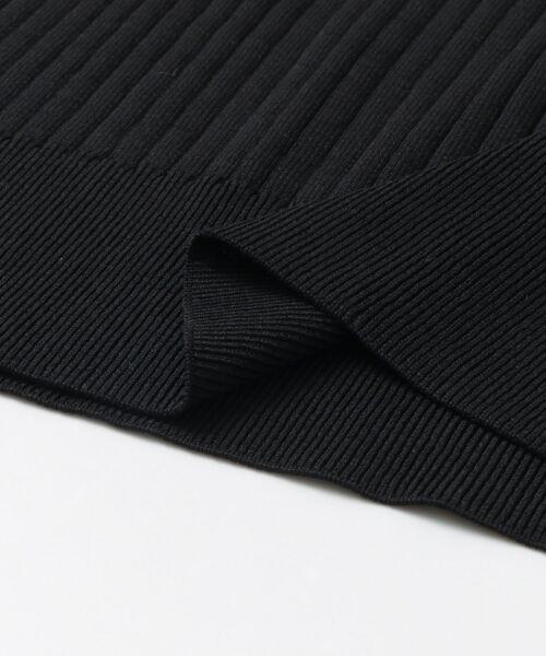 URBAN RESEARCH / アーバンリサーチ ニット・セーター | コンパクトリブニット(ノースリーブ) | 詳細20