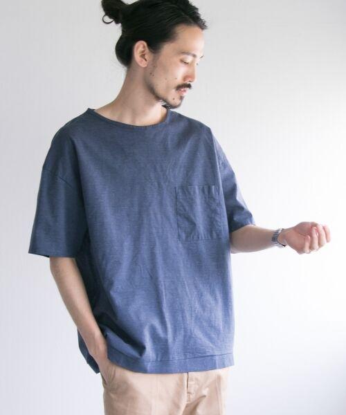 URBAN RESEARCH / アーバンリサーチ Tシャツ | ペーパー天竺シャツTシャツ | 詳細1