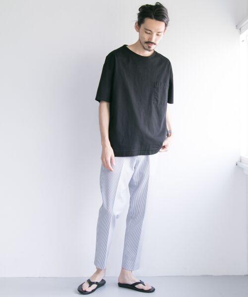 URBAN RESEARCH / アーバンリサーチ Tシャツ | ペーパー天竺シャツTシャツ | 詳細10