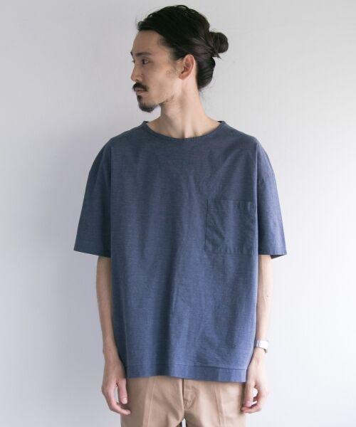 URBAN RESEARCH / アーバンリサーチ Tシャツ | ペーパー天竺シャツTシャツ | 詳細12
