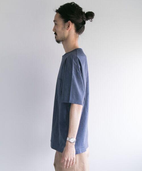 URBAN RESEARCH / アーバンリサーチ Tシャツ | ペーパー天竺シャツTシャツ | 詳細13