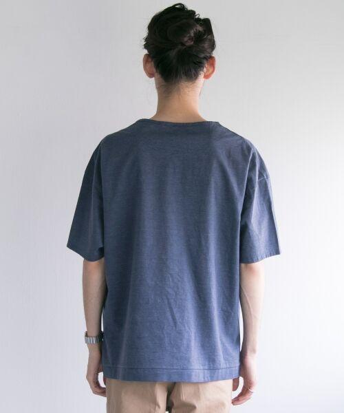 URBAN RESEARCH / アーバンリサーチ Tシャツ | ペーパー天竺シャツTシャツ | 詳細14