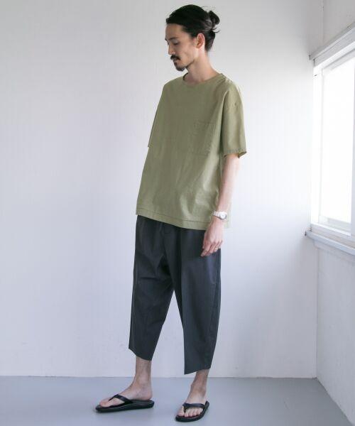 URBAN RESEARCH / アーバンリサーチ Tシャツ | ペーパー天竺シャツTシャツ | 詳細5
