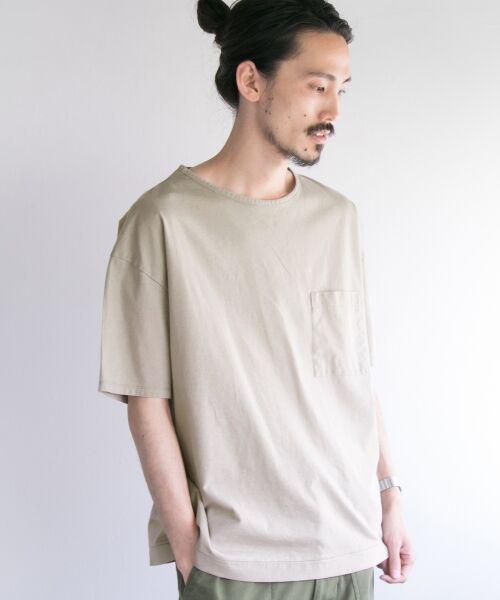 URBAN RESEARCH / アーバンリサーチ Tシャツ | ペーパー天竺シャツTシャツ | 詳細6