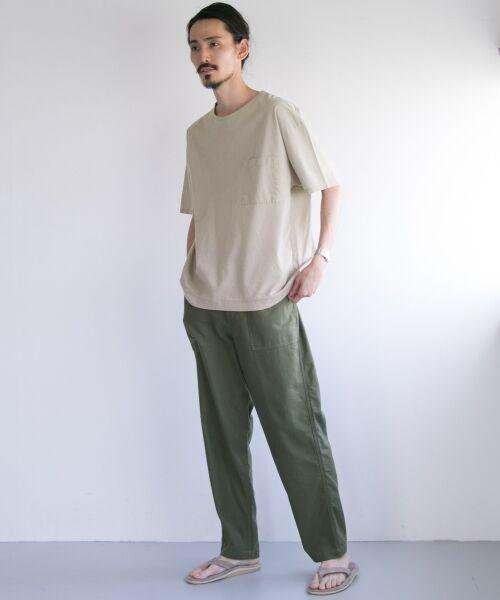 URBAN RESEARCH / アーバンリサーチ Tシャツ | ペーパー天竺シャツTシャツ | 詳細8