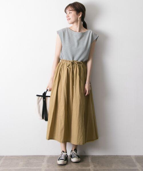 URBAN RESEARCH / アーバンリサーチ スカート   【再入荷】リバーシブル2wayギャザースカート   詳細12