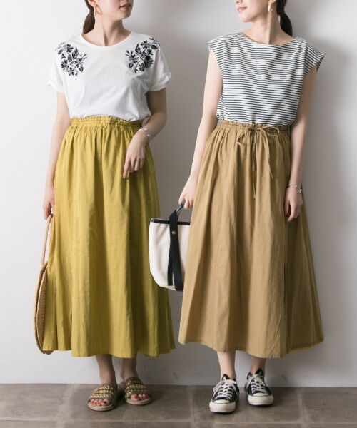 URBAN RESEARCH / アーバンリサーチ スカート   【再入荷】リバーシブル2wayギャザースカート   詳細13