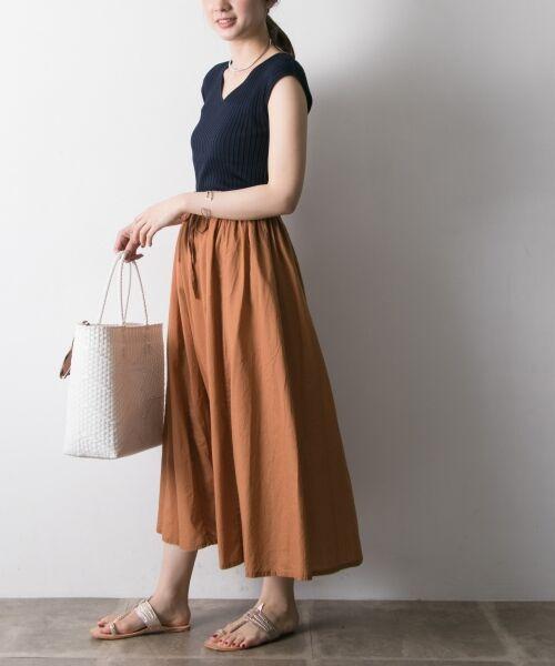 URBAN RESEARCH / アーバンリサーチ スカート   【再入荷】リバーシブル2wayギャザースカート   詳細18