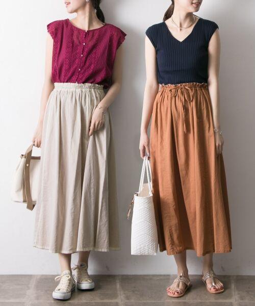 URBAN RESEARCH / アーバンリサーチ スカート   【再入荷】リバーシブル2wayギャザースカート   詳細20