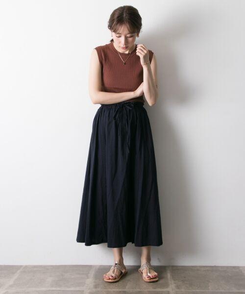 URBAN RESEARCH / アーバンリサーチ スカート   【再入荷】リバーシブル2wayギャザースカート   詳細5