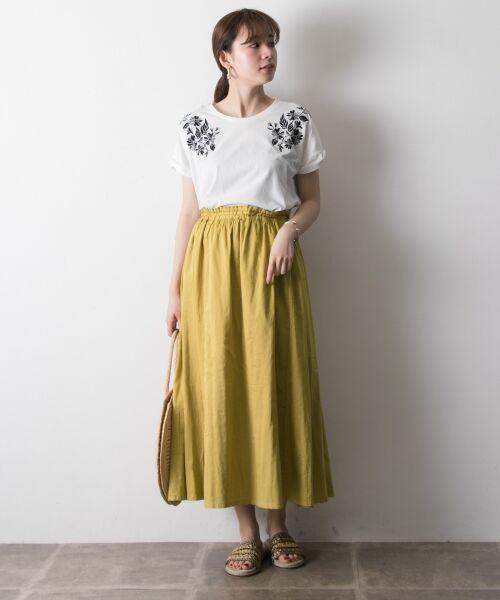 URBAN RESEARCH / アーバンリサーチ スカート   【再入荷】リバーシブル2wayギャザースカート   詳細9