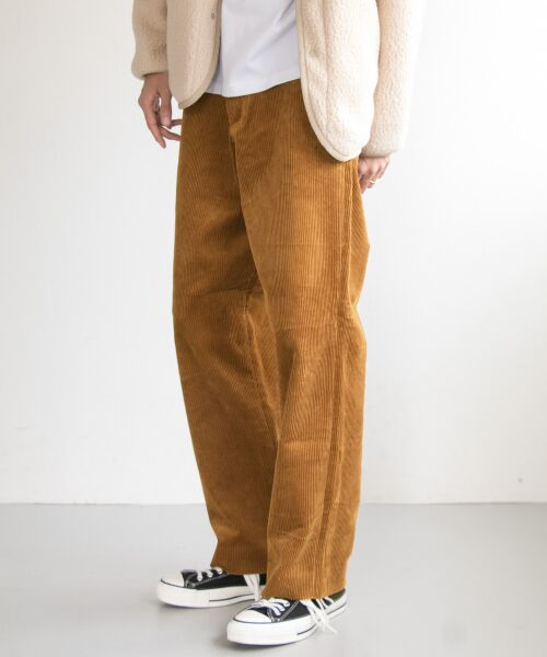 URBAN RESEARCH / アーバンリサーチ その他パンツ | Corduroy Wide Pants(L.CML)