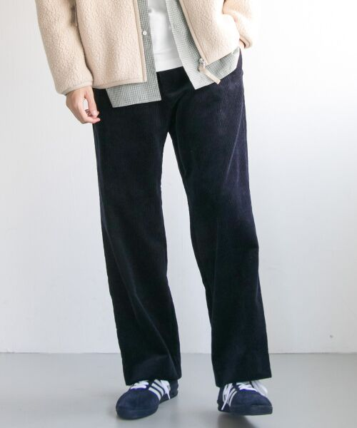 URBAN RESEARCH / アーバンリサーチ その他パンツ | Corduroy Wide Pants(NAVY)
