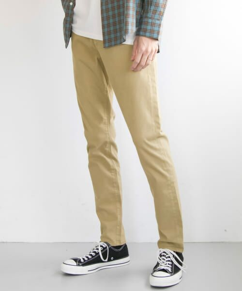 URBAN RESEARCH / アーバンリサーチ その他パンツ   WHEIR Bobson×URBAN RESEARCH 別注SKINNY CHINO(BEIGE)