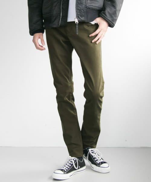 URBAN RESEARCH / アーバンリサーチ その他パンツ   WHEIR Bobson×URBAN RESEARCH 別注SKINNY CHINO(OLIVE)