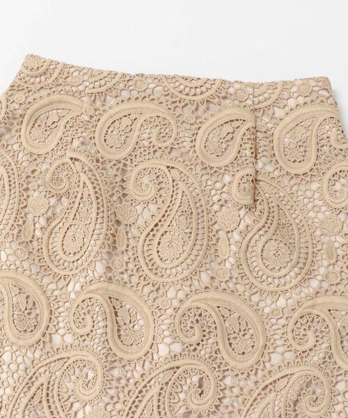 URBAN RESEARCH / アーバンリサーチ スカート | CELFORD ペイズリーレースタイトスカート | 詳細3