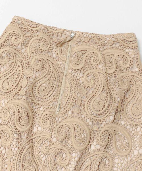 URBAN RESEARCH / アーバンリサーチ スカート | CELFORD ペイズリーレースタイトスカート | 詳細4
