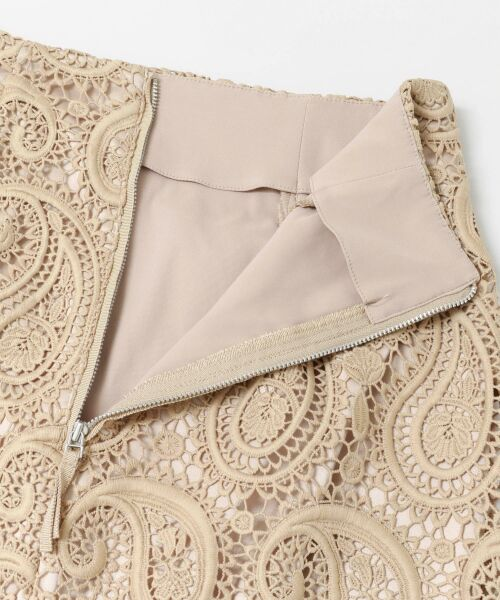 URBAN RESEARCH / アーバンリサーチ スカート | CELFORD ペイズリーレースタイトスカート | 詳細5