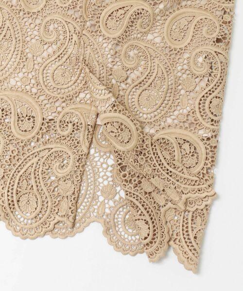 URBAN RESEARCH / アーバンリサーチ スカート | CELFORD ペイズリーレースタイトスカート | 詳細7
