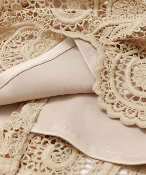 URBAN RESEARCH / アーバンリサーチ スカート | CELFORD ペイズリーレースタイトスカート | 詳細8