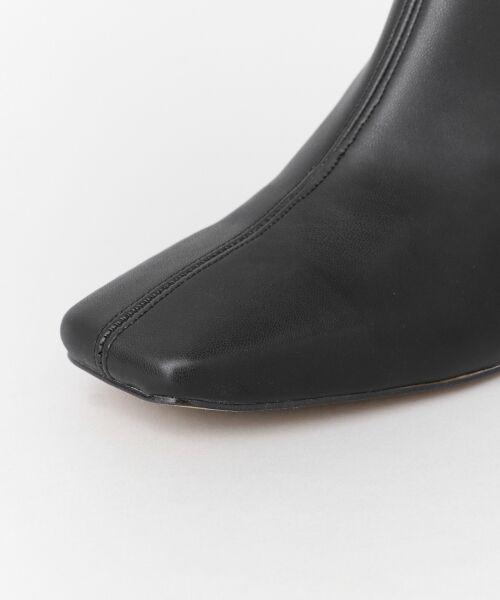 URBAN RESEARCH / アーバンリサーチ ブーツ(ショート丈) | スクエアトゥストレッチブーツ | 詳細5