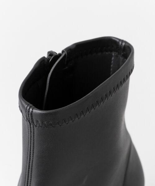 URBAN RESEARCH / アーバンリサーチ ブーツ(ショート丈) | スクエアトゥストレッチブーツ | 詳細7
