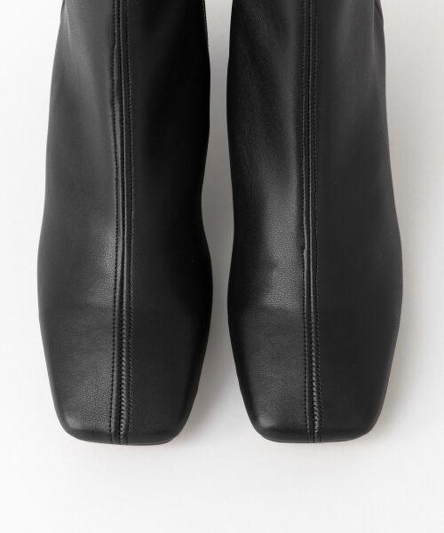 URBAN RESEARCH / アーバンリサーチ ブーツ(ショート丈) | スクエアトゥストレッチブーツ | 詳細9