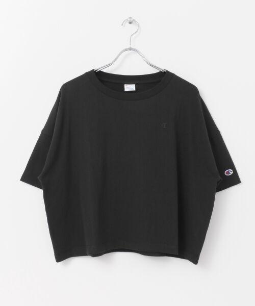 URBAN RESEARCH / アーバンリサーチ Tシャツ | Champion×URBAN RESEARCH ウォッシュドジャージーワイドTシャツ | 詳細15
