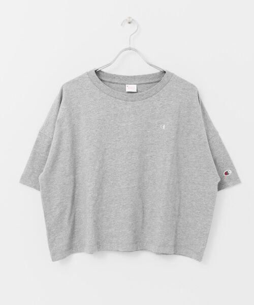 URBAN RESEARCH / アーバンリサーチ Tシャツ | Champion×URBAN RESEARCH ウォッシュドジャージーワイドTシャツ | 詳細16