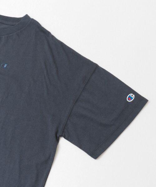 URBAN RESEARCH / アーバンリサーチ Tシャツ | Champion×URBAN RESEARCH ウォッシュドジャージーワイドTシャツ | 詳細18